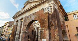Portico Ottavia ghetto Ebraico Roma